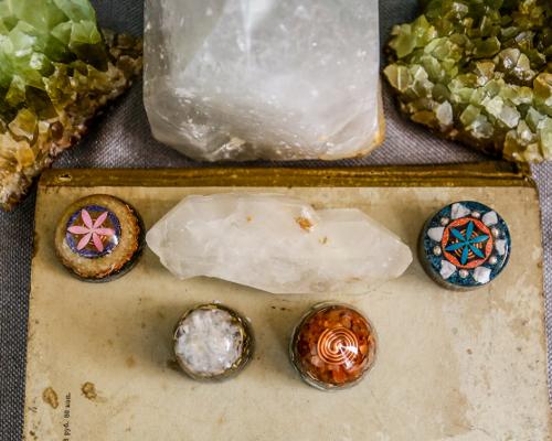 minerały i biżuteria